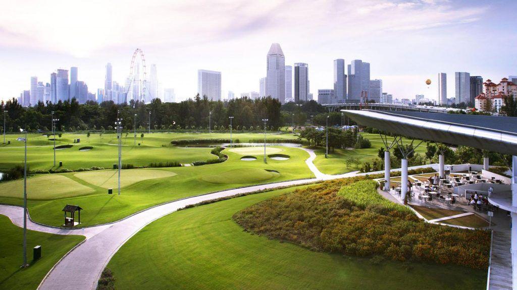 Marina Bay Golf Course, Singapur